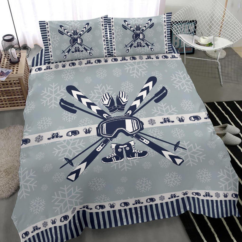 Ski Duvet Cover Bedding Set