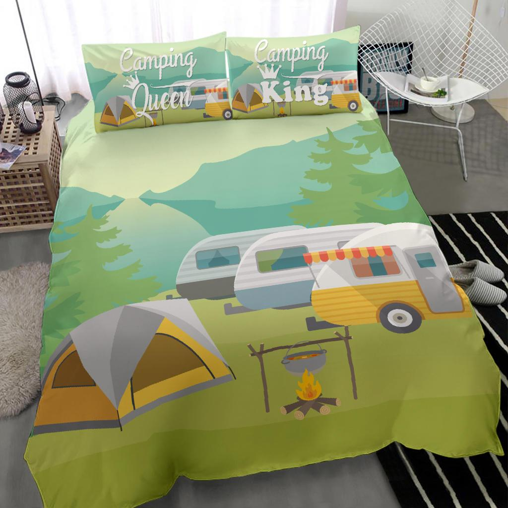 Camping Queen & King Camper tent Bedding Set