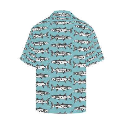 Barracuda Pattern Print Design 03 Hawaiian Shirt