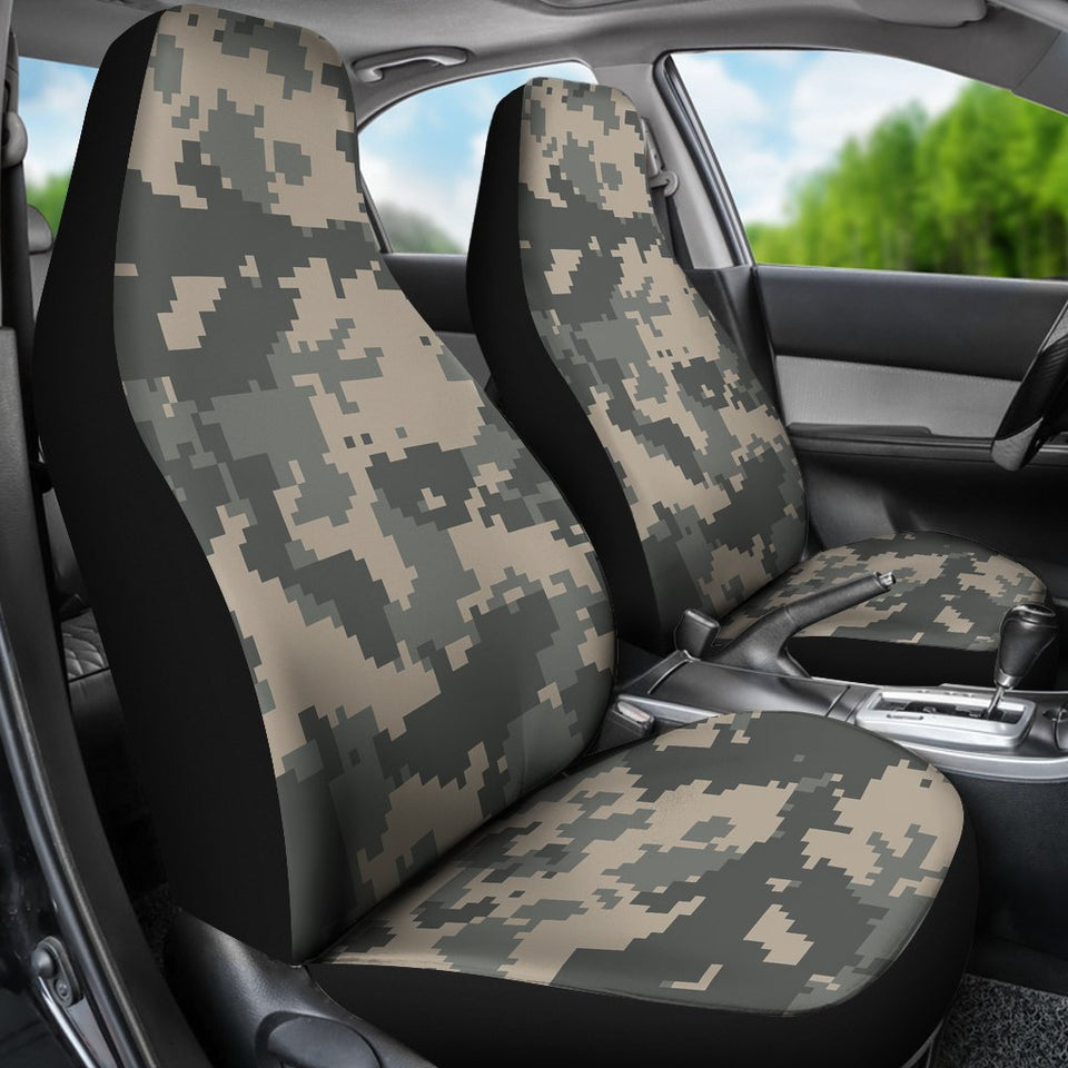 ACU Digital Camouflage Universal Fit Car Seat Covers