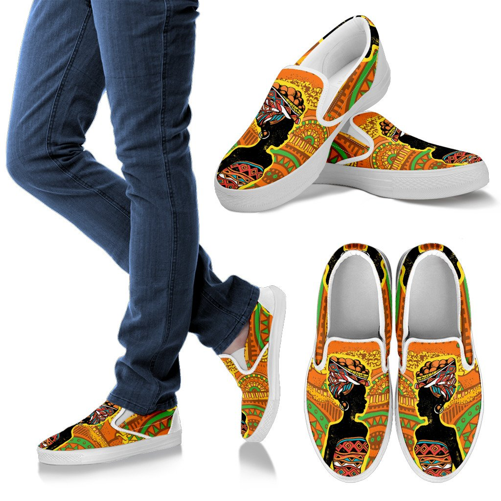 Women Canvas Slip On Shoes