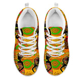 African Girl Print Women Sneakers Shoes