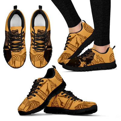 African Girl Safari Women Sneakers