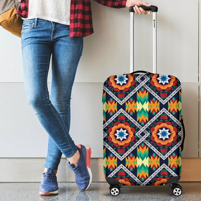 African Kente Luggage Cover Protector