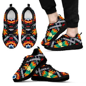 African Kente Men Sneakers
