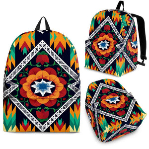 African Kente Premium Backpack