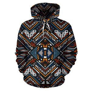 African Kente Print All Over Print Hoodie