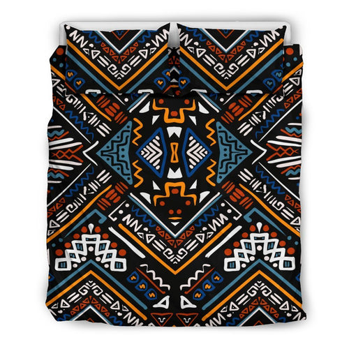 African Kente Print Duvet Cover Bedding Set
