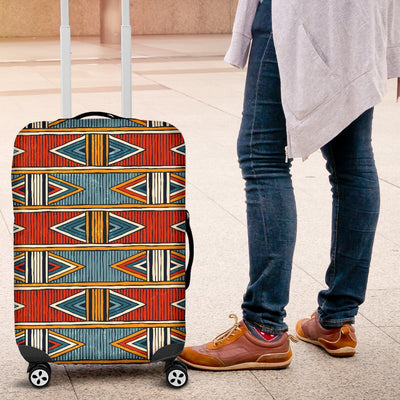 African Kente Print Luggage Cover Protector