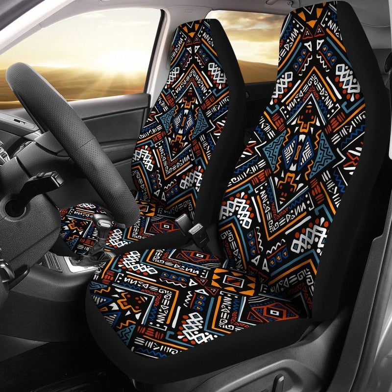 African Kente Print Universal Fit Car Seat Covers