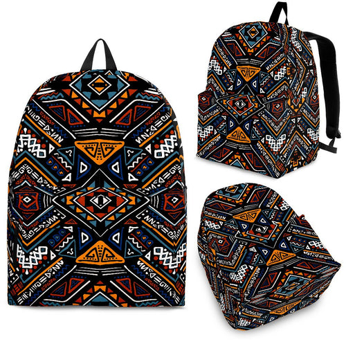 African Kente Print v2 Premium Backpack