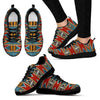 African Kente Print Women Sneakers