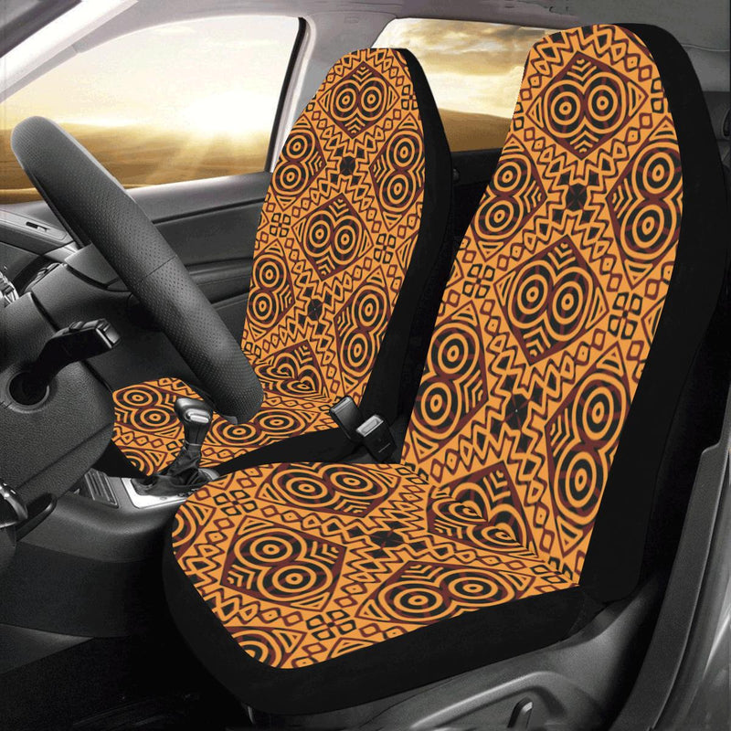 African Pattern Print Design 05 Car Seat Covers (Set of 2)-JORJUNE.COM