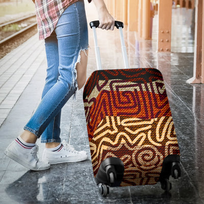 African Pattern Print Luggage Cover Protector
