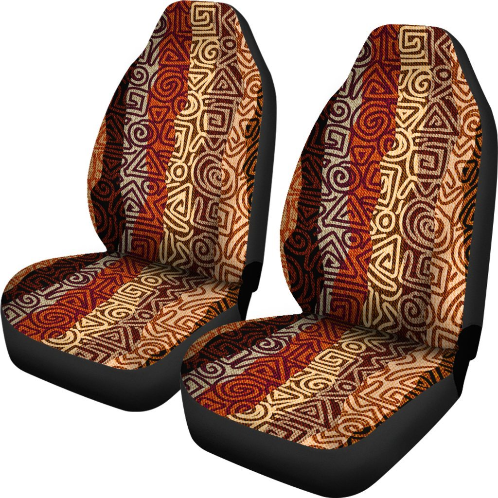 African Pattern Print Universal Fit Car Seat Covers