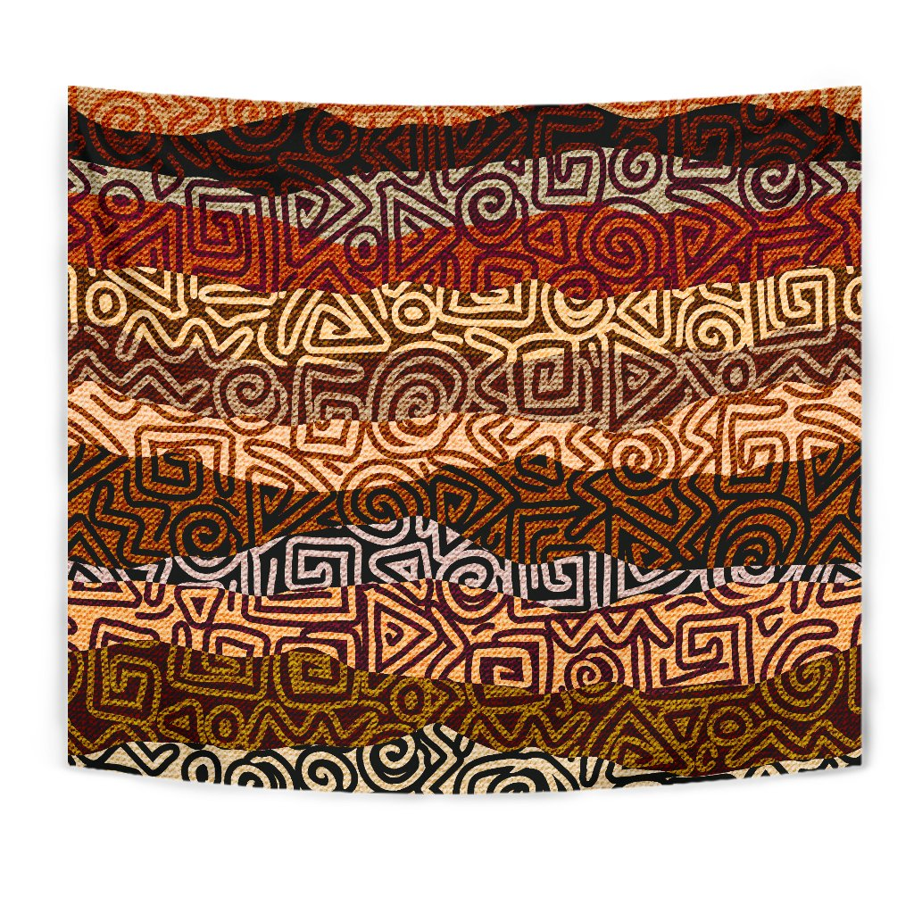 African Pattern Print Wall Tapestry