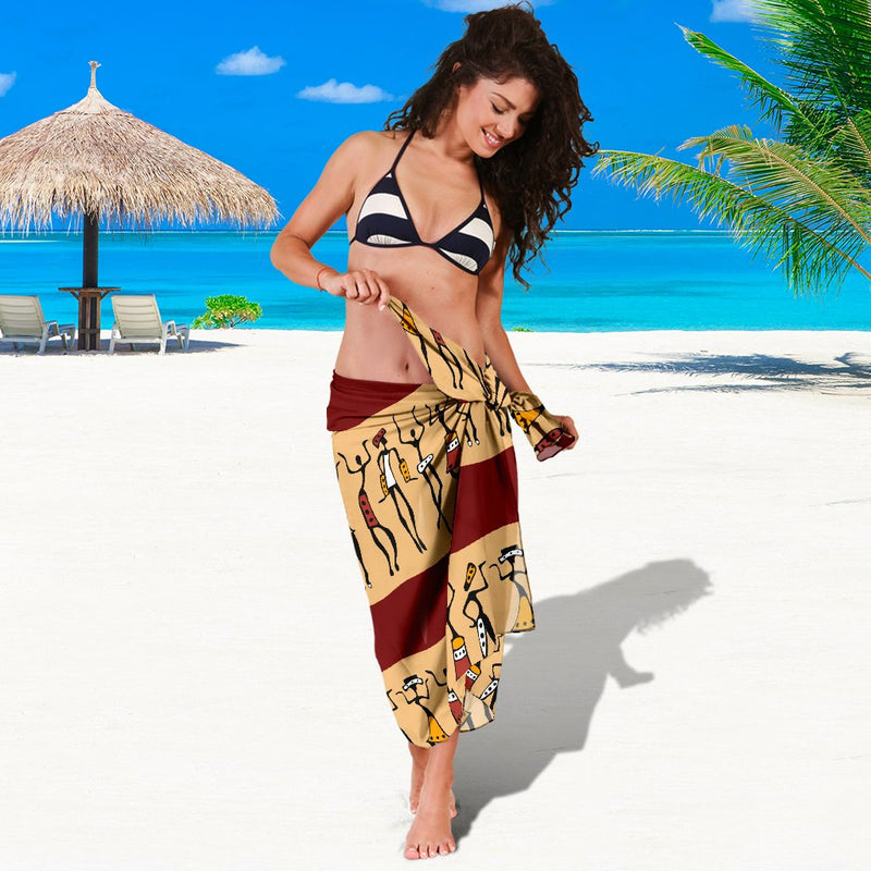 African People Sarong Pareo Wrap