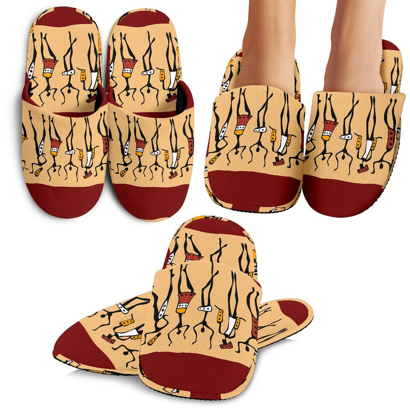 African People Slippers