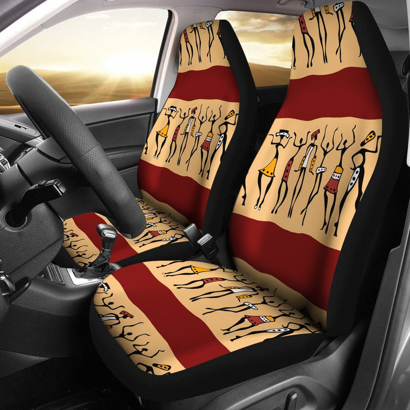 African People Universal Fit Car Seat Covers