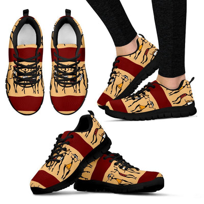 African People Women Sneakers