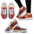 African Print Pattern Women Sneakers