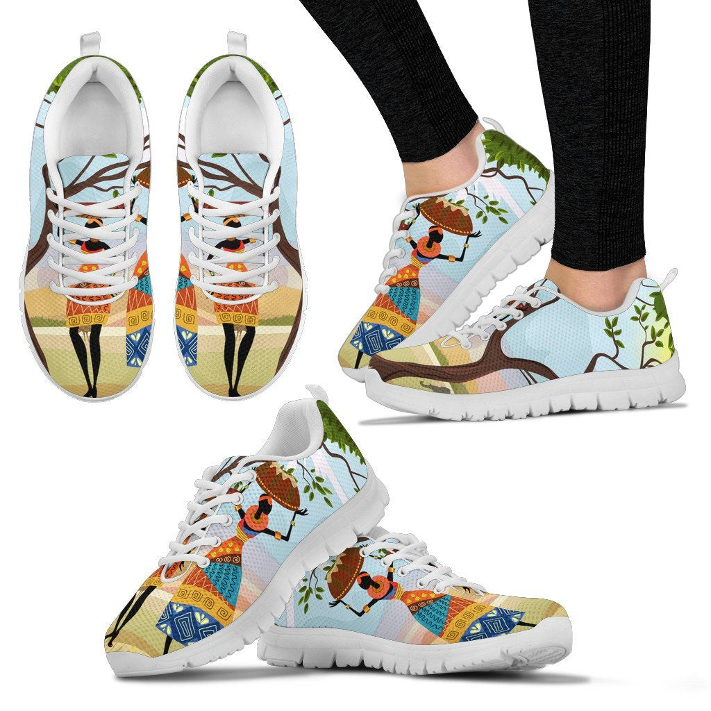 African Safari Women Sneakers
