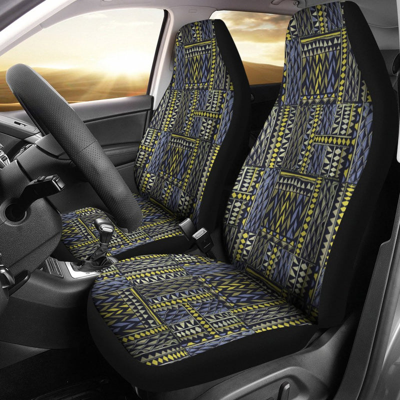 African Tribal Pattern Design Universal Fit Car Seat Covers