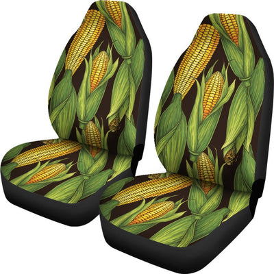 Agricultural Corn cob Print Universal Fit Car Seat Covers