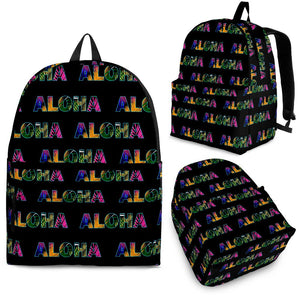 Aloha Hawaii Neon Premium Backpack