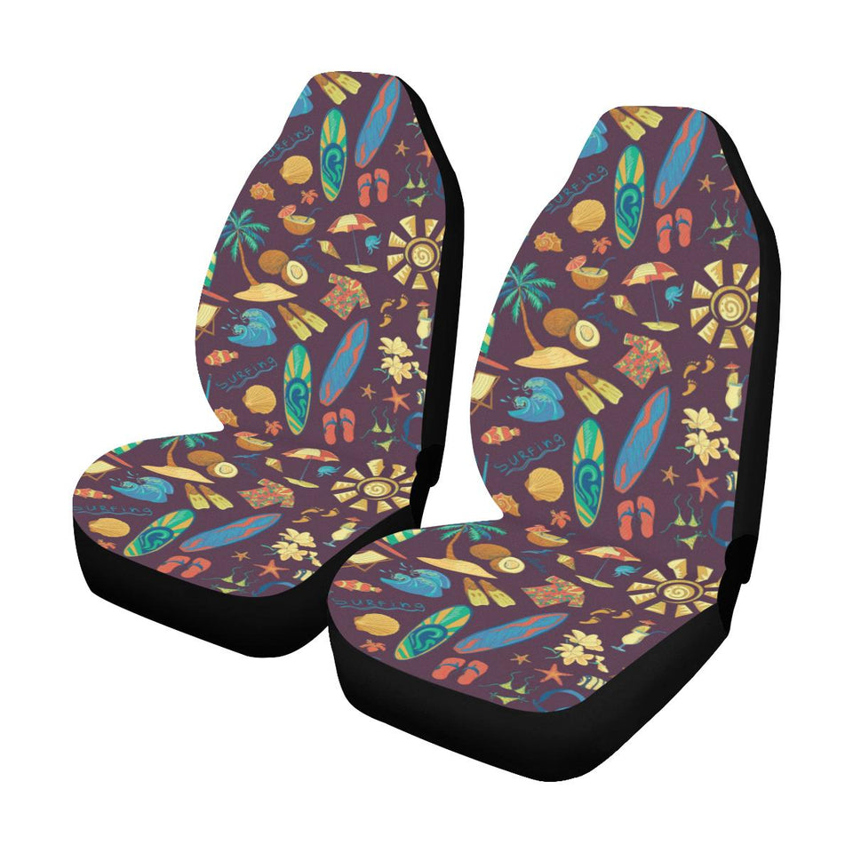 Hawaiian Car Seat Covers >> Aloha Hawaii Pattern Print Design 01 Universal Fit Car Seat Covers