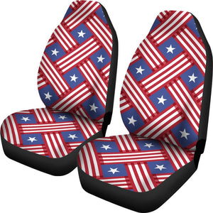 American Flag Pattern Universal Fit Car Seat Covers