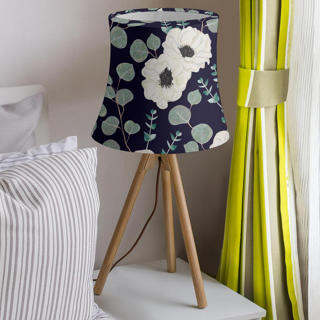 Anemone Pattern Print Design AM01 Drum Lamp Shade-JORJUNE.COM