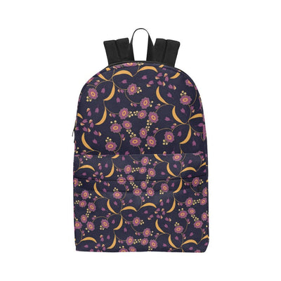 Anemone Pattern Print Design AM012 Unisex Nylon Backpacks-JorJune