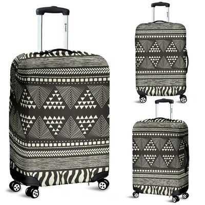 Animal Skin Aztec Pattern Luggage Cover Protector