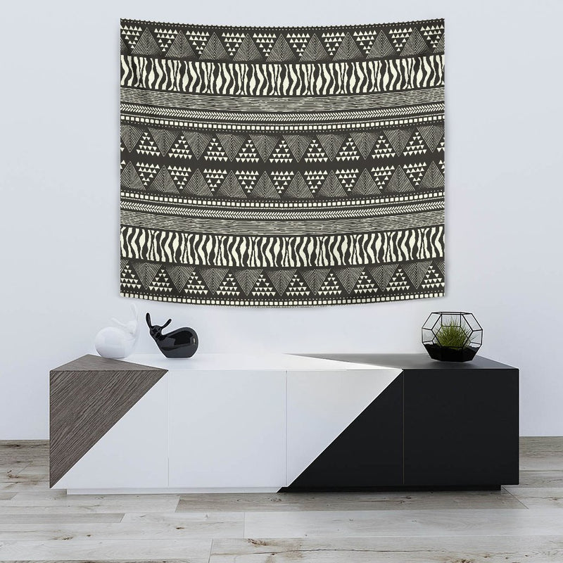 Animal Skin Aztec Pattern Wall Tapestry