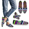Animal Skin Aztec Rainbow Women Casual Shoes-JorJune.com