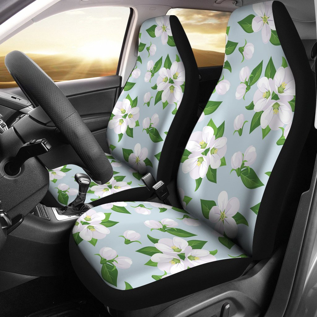 Apple Blossom Pattern Print Design AB04 Universal Fit Car Seat Covers