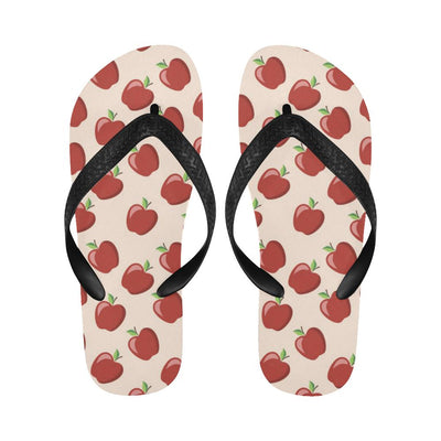 Apple Pattern Print Design AP01 Flip Flops-JorJune