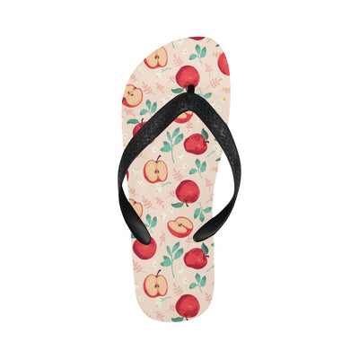 Apple Pattern Print Design AP06 Flip Flops-JorJune