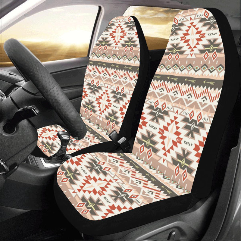 Aztec Pattern Print Design 05 Car Seat Covers (Set of 2)-JORJUNE.COM