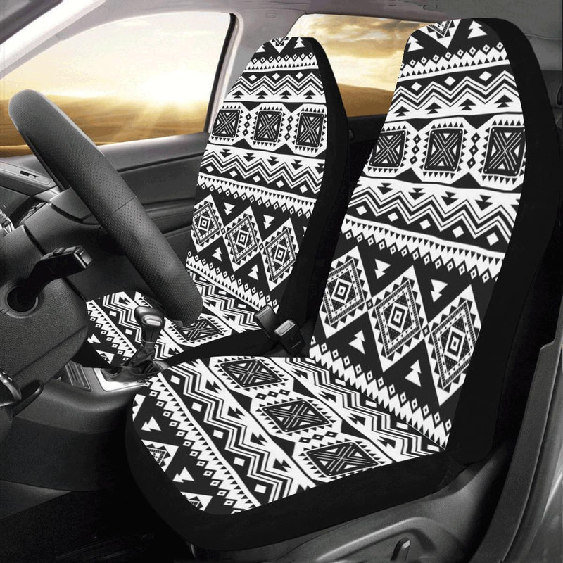 Aztec Pattern Print Design 08 Car Seat Covers (Set of 2)-JORJUNE.COM