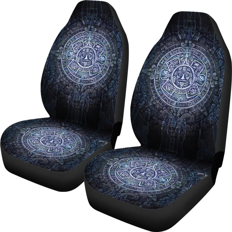 Aztec Symbol Blue Design Universal Fit Car Seat Covers