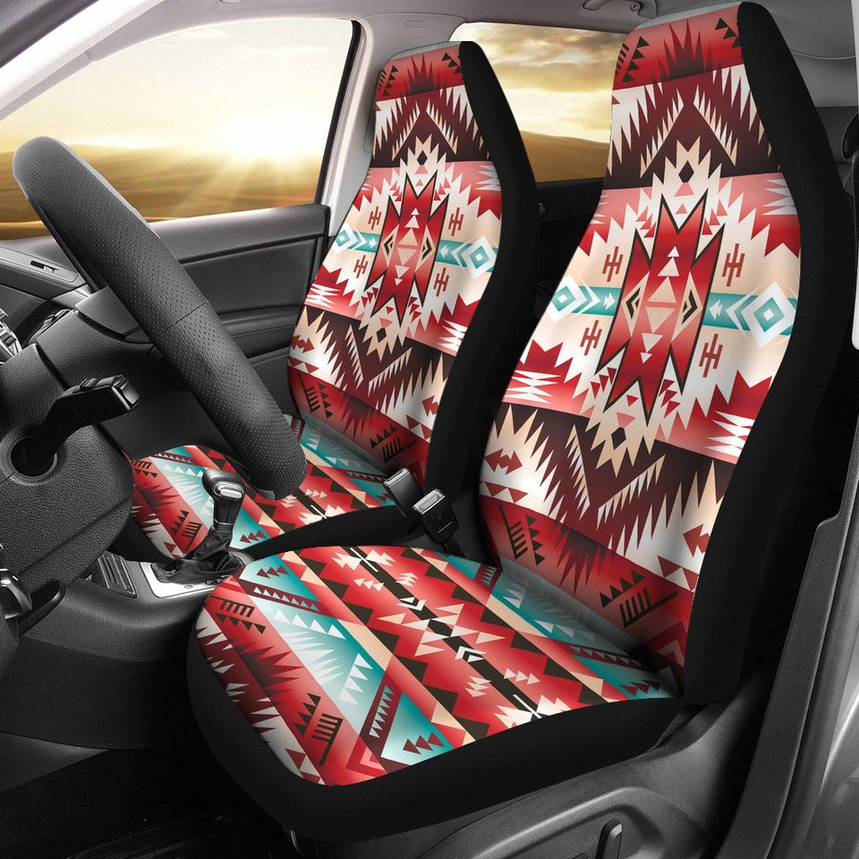 Aztec Western Style Print Pattern Universal Fit Car Seat Covers