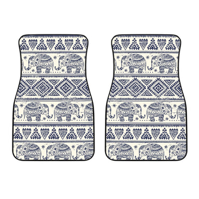 Baby Elephant Aztec Car Floor Mats