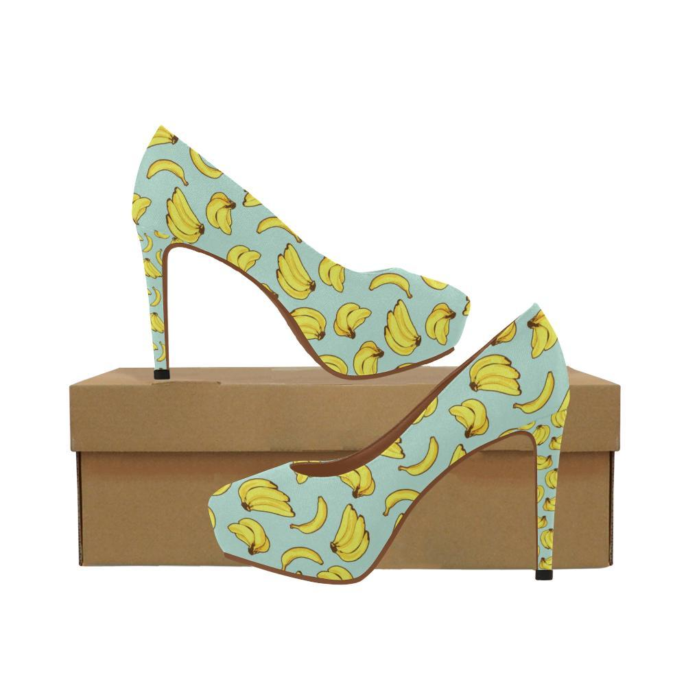 Banana Ba04 High Pattern Print Heels Design Women nwkO80P