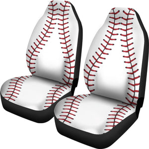 Baseball Universal Fit Car Seat Covers