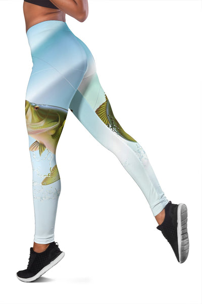 Bass Fishing Women Leggings