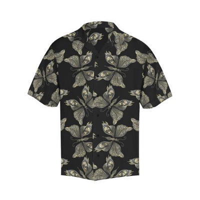 Beautiful Butterfly Pattern Men Hawaiian Shirt