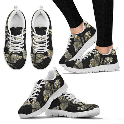 Beautiful Butterfly Pattern WomenSneakers
