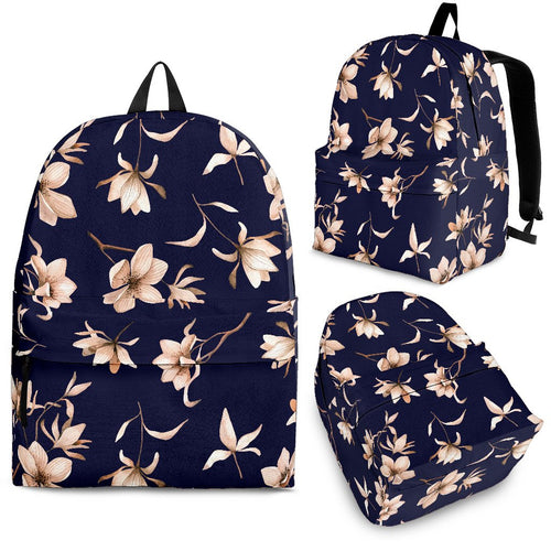Beautiful Floral Pattern Premium Backpack
